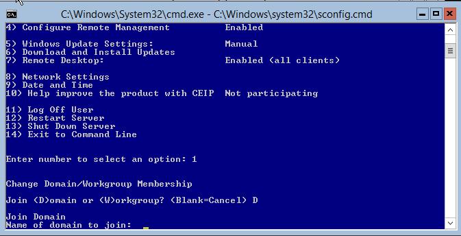 domalab.com Hyper-V nested install domain name