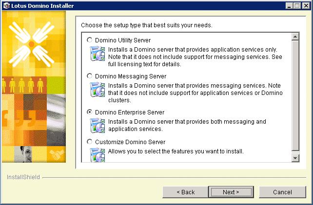 domalab.com install domino enterprise server