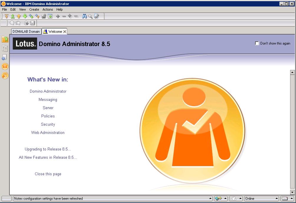 domalab.com Quickr Domino administrator