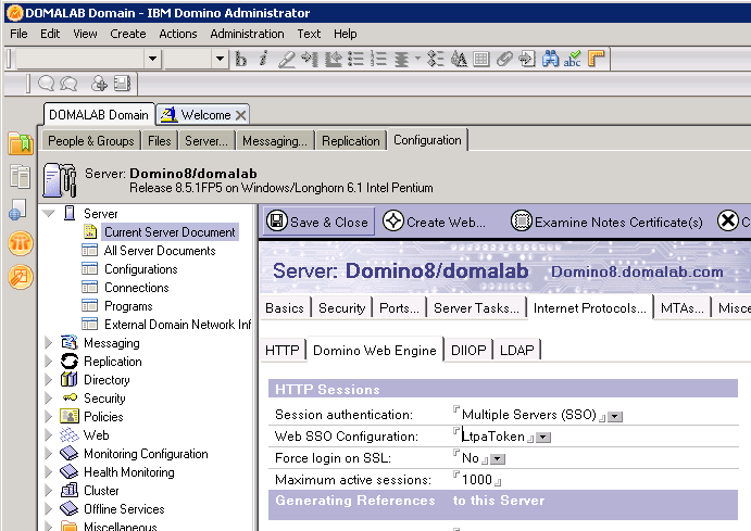 domalab.com Quickr Domino LtpaToken