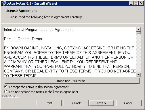 domalab.com configure Domino lotus notes license
