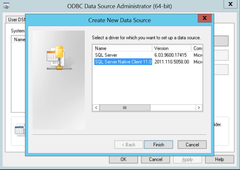 domalab.com VMware vCenter Deploy SQL native client