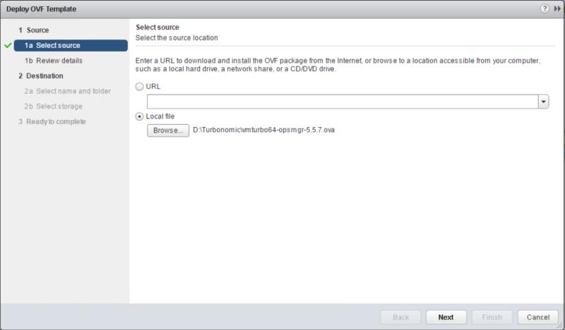 domalab.com Turbonomic OVF deploy