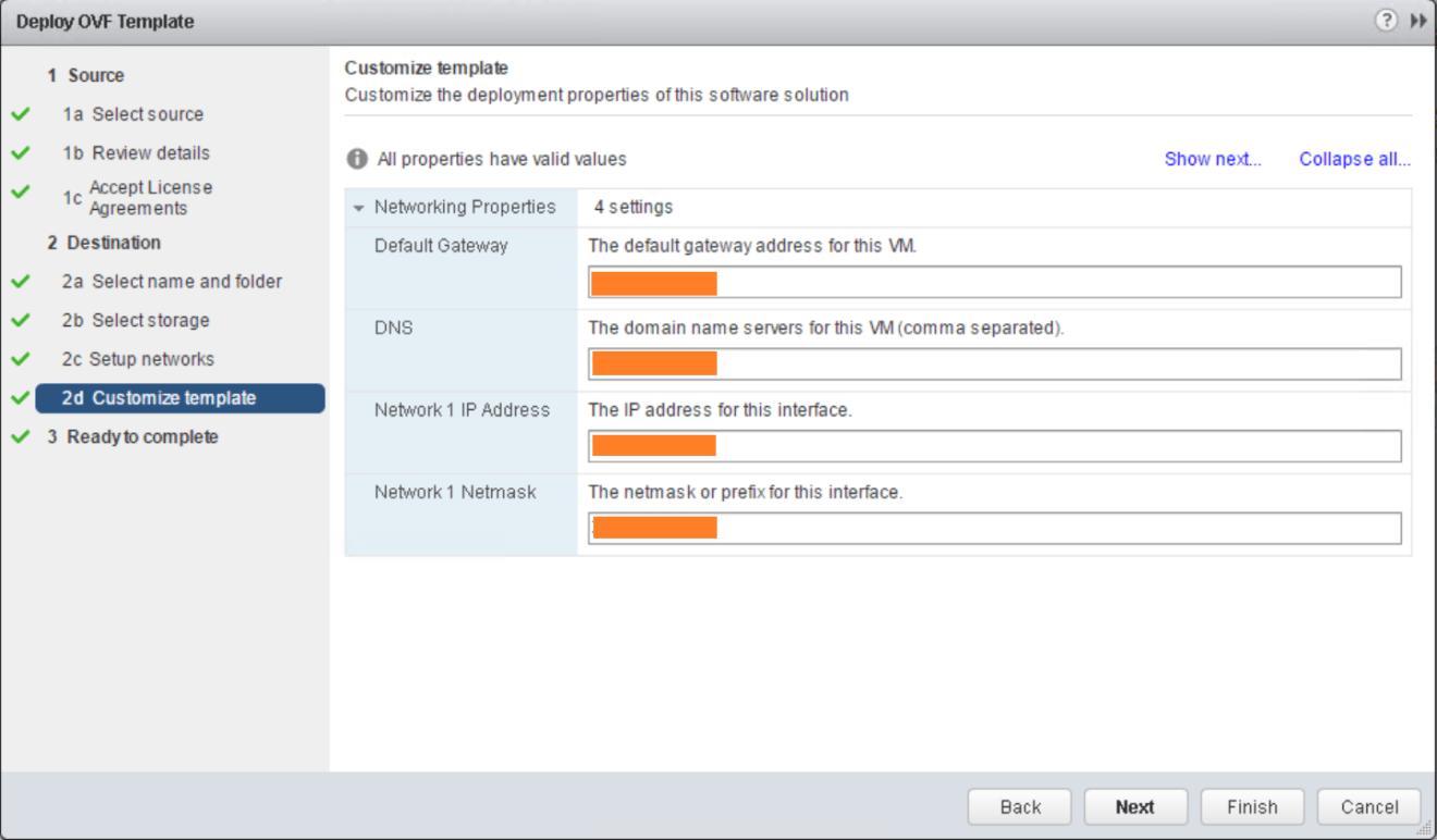 domalab.com VMware VDP install custom template