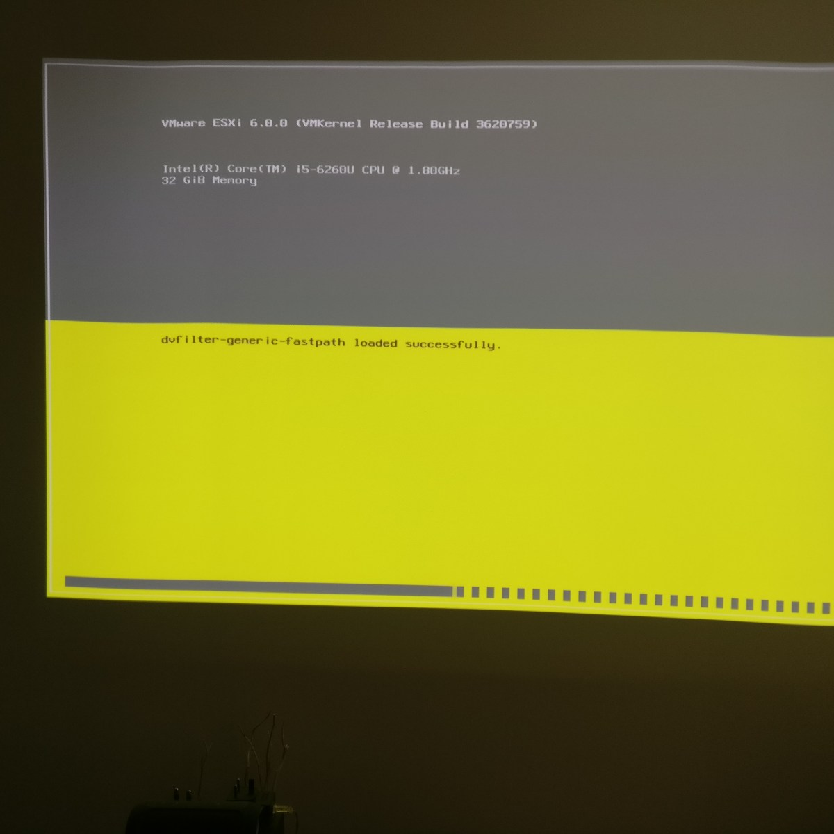 Intel NUC ESXi Hypervisor install walkthrough
