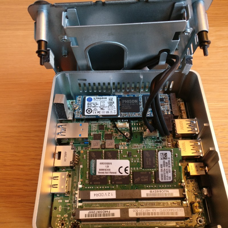 domalab.com intel nuc home lab Intel NUC ram memory