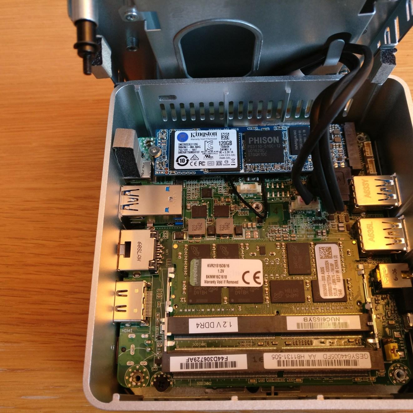 domalab.com intel nuc home lab Intel NUC ram