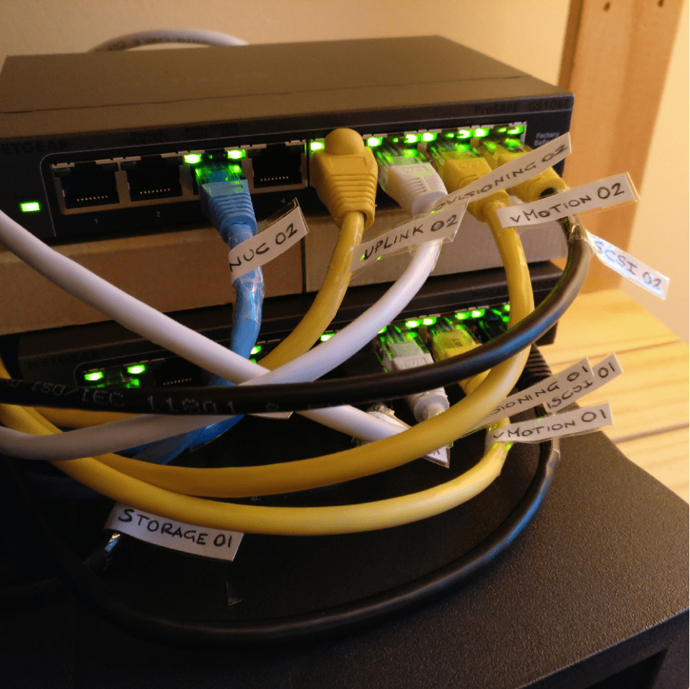 VMware vSphere Networking setup in a home lab » domalab
