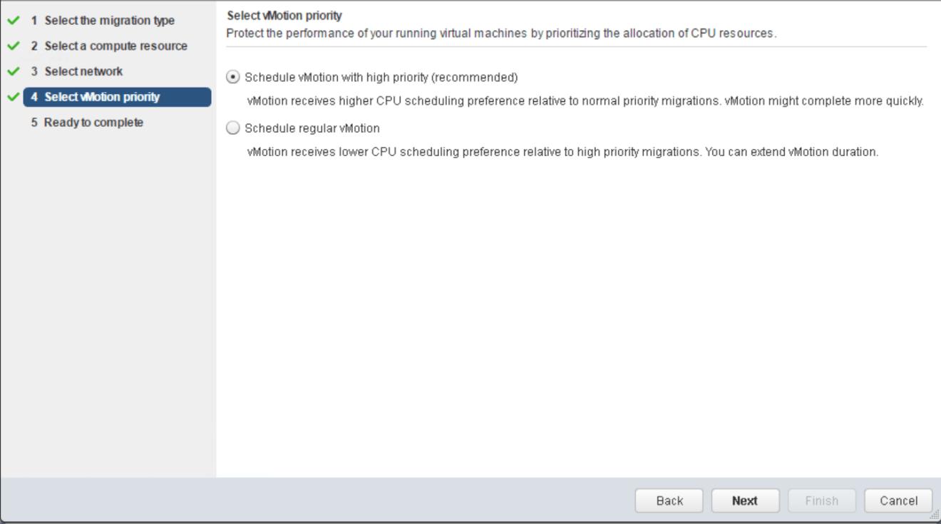 domalab.com VMware vMotion priority