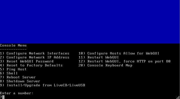 Install NAS4Free VMware ESXI 17