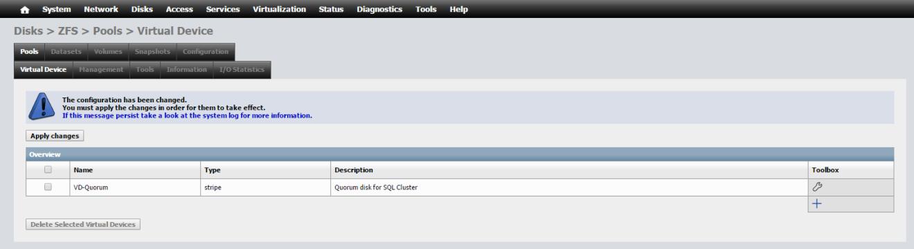 domalab.com NAS4Free storage create virtual device