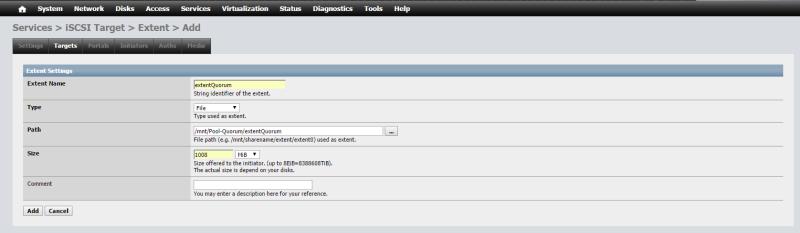 Install NAS4Free VMware ESXi 62
