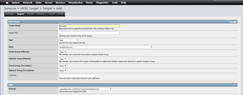 Install NAS4Free VMware ESXi 64