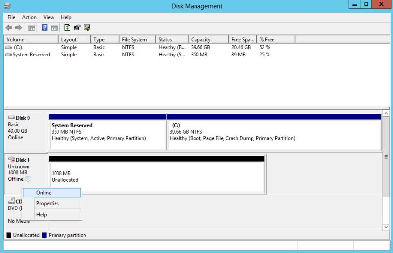 domalab.com NAS4Free iSCSI target disk management