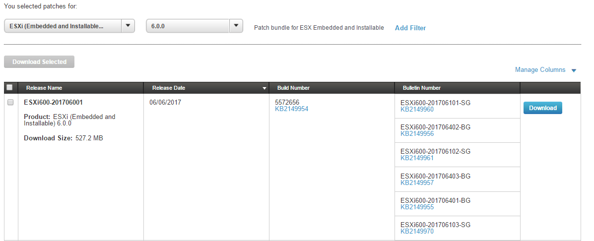 domalab.com VMware patch download portal