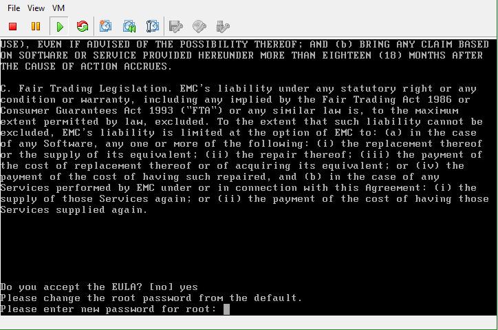 Isilon OneFS Root password