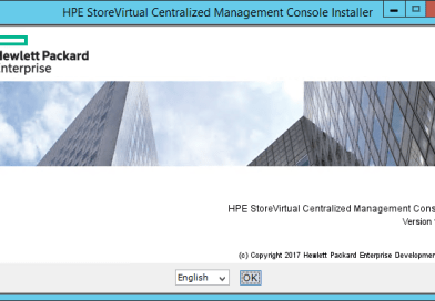 Install HPE StoreVirtual Centralized Management Console