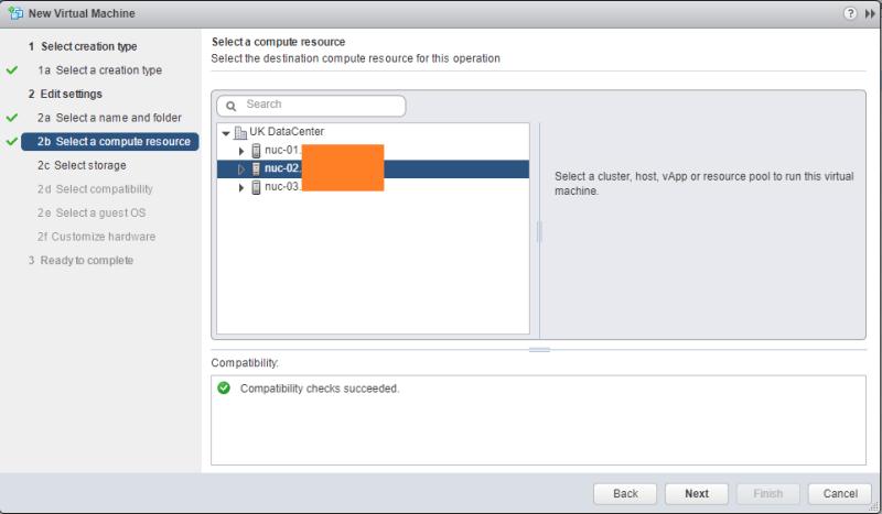 Hyper-V 2016 nested install VMware Host