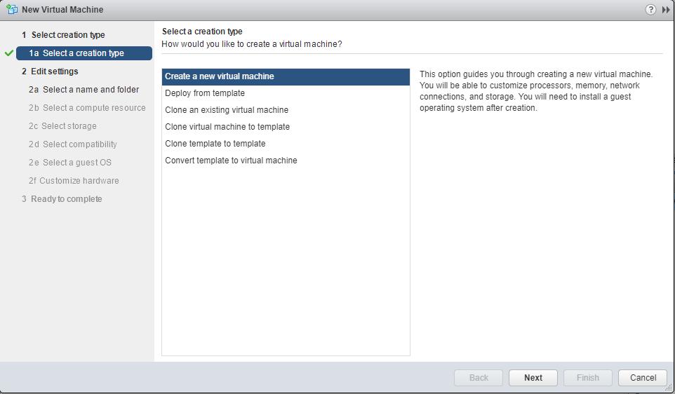 Linux Ubuntu create vm