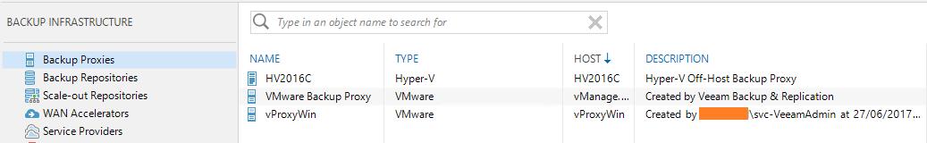 Hyper-V Off-Host Backup Proxy