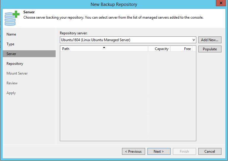 Linux Backup Server