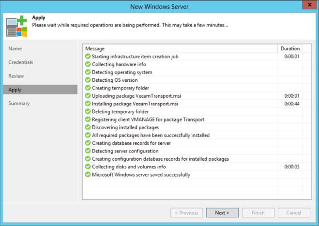 HPE StoreOnce VTL Veeam add server settings