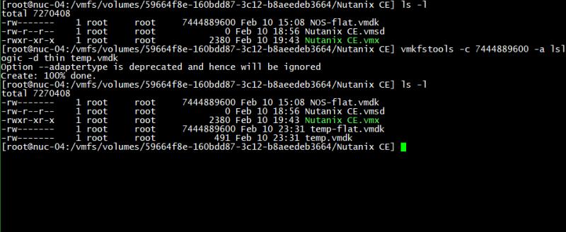 domalab.com Create VMware Disk Descriptor file 04