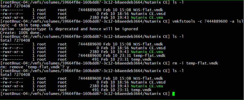 domalab.com Create VMware Disk Descriptor file 06