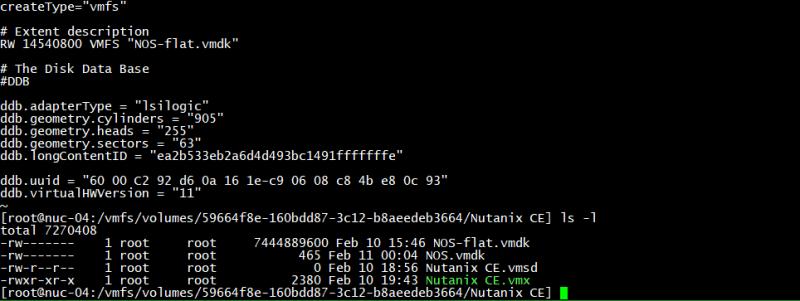 domalab.com Create VMware Disk Descriptor file 11