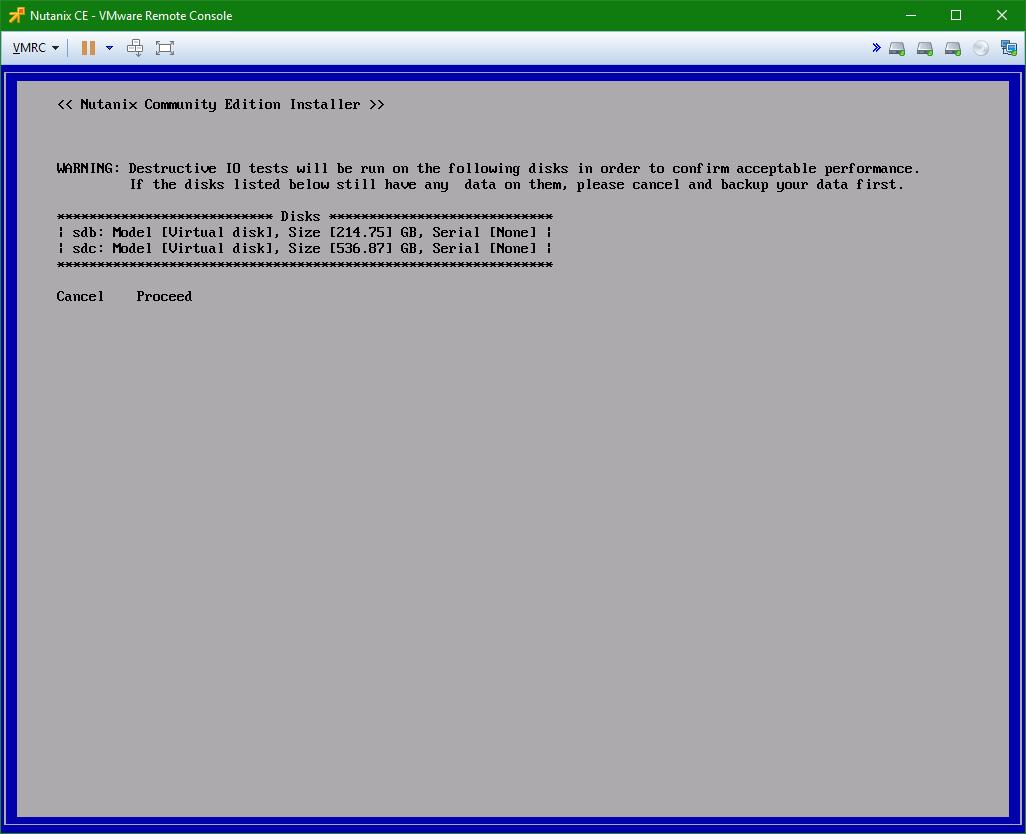domalab.com Install Nutanix nested VMware disk