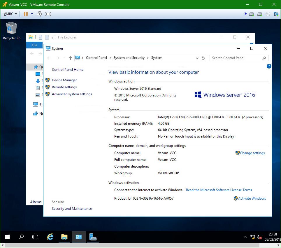 domalab.com VM Template custom VM
