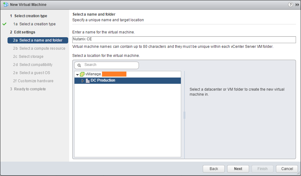 Deploy Nutanix Community Edition on VMware
