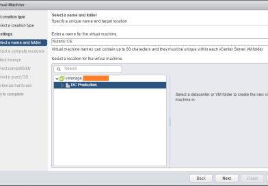 Deploy Nutanix Community Edition on VMware