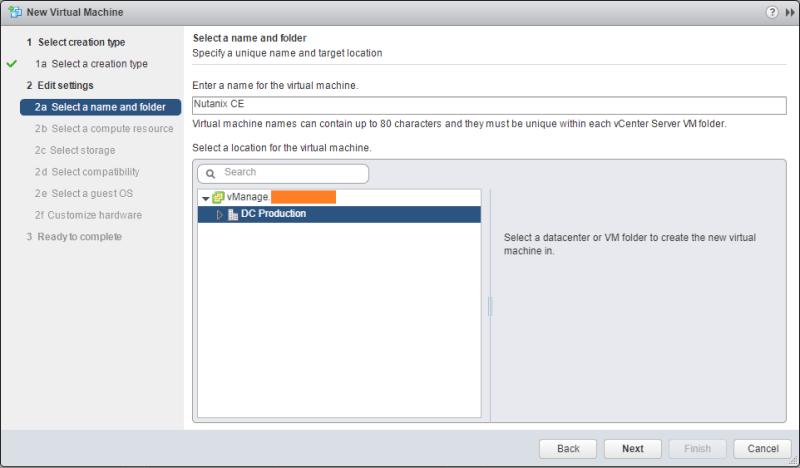 domalab.com Deploy Nutanix nested VMware VM name