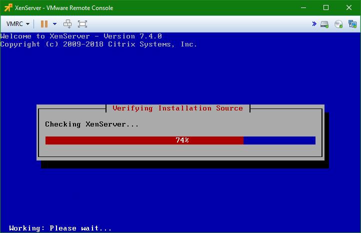 domalab.com install XenServer check media