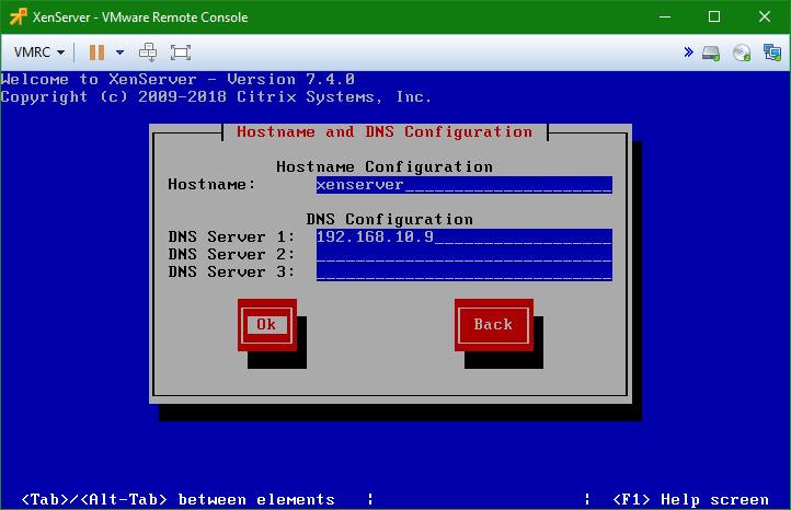 domalab.com install XenServer DNS