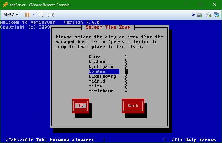 domalab.com install XenServer timezone