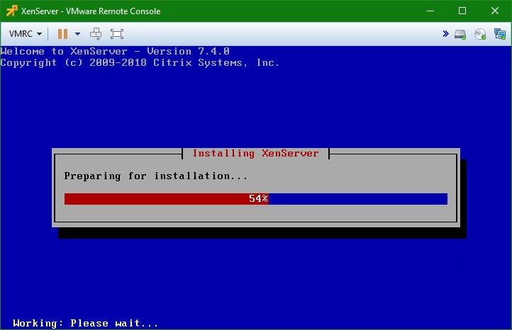 domalab.com install XenServer prepare installation