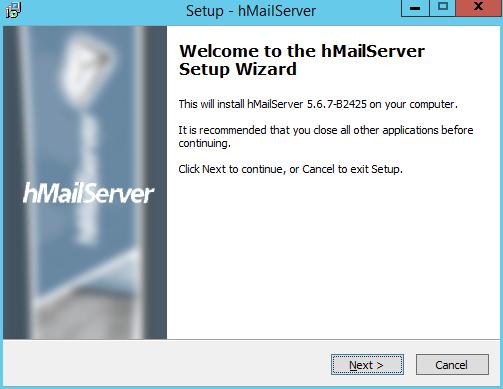 Quick install hMailServer on Windows Server » domalab