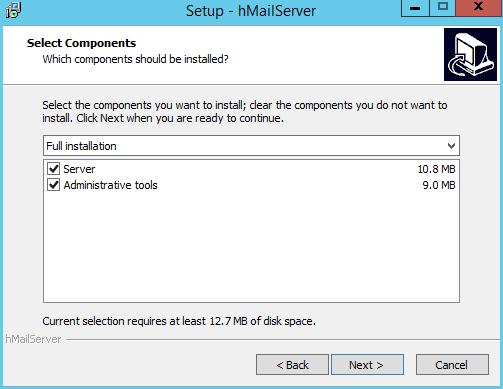 domalab.com install hMailServer setup