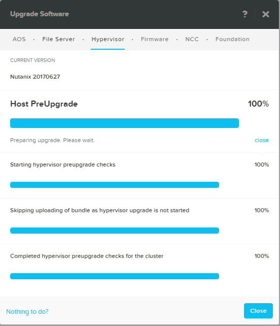 domalab.com Upgrade Nutanix upgrade summary