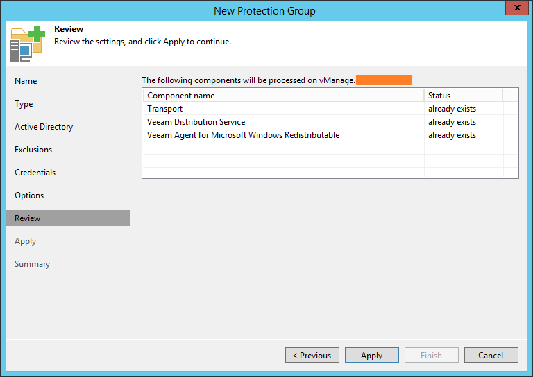 domalab.com Backup SQL cluster protection group review