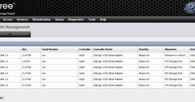 Expand NAS4Free Pool Storage on VMware