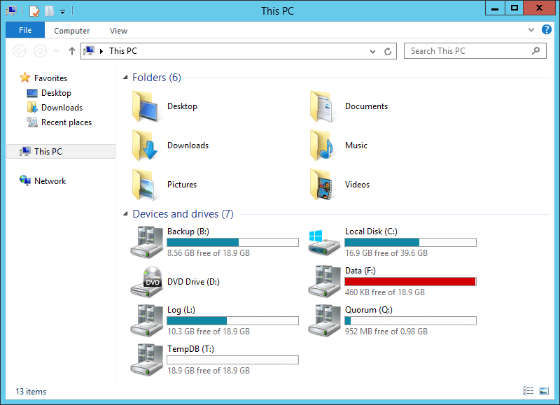 domalab.com NAS4Free Pool storage Windows Explorer