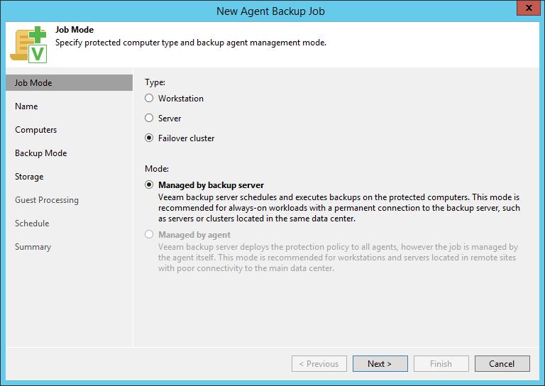 domalab.com SQL Cluster Backup Job failover mode