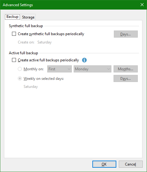 domalab.com OneDrive Windows Backup advanced settings