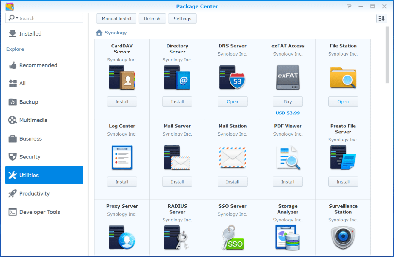 domalab.com Synology Syslog Package Center