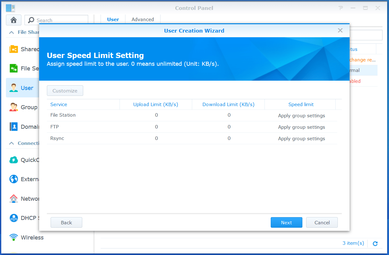 domalab.com VMware VCSA Backup synology speed limit