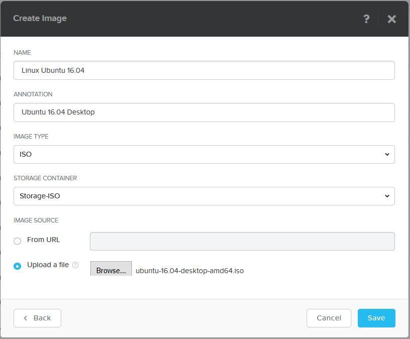 domalab.com Nutanix Image Configuration OS ISO