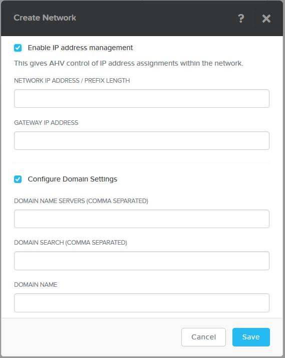 domalab.com Nutanix VM Network IP Address Management